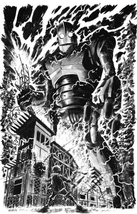 Iron Giant commission by Brian Level